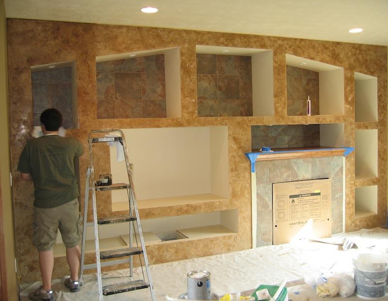 Walls - Sioux Falls, SD Interior Design Photos | Bella Faux Finishes
