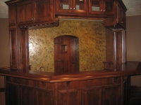 Wine Cellar, Bars, Italian Finishes, Bella Faux Finishes, Sioux Falls, SD
