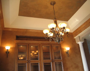 home ceiling detail