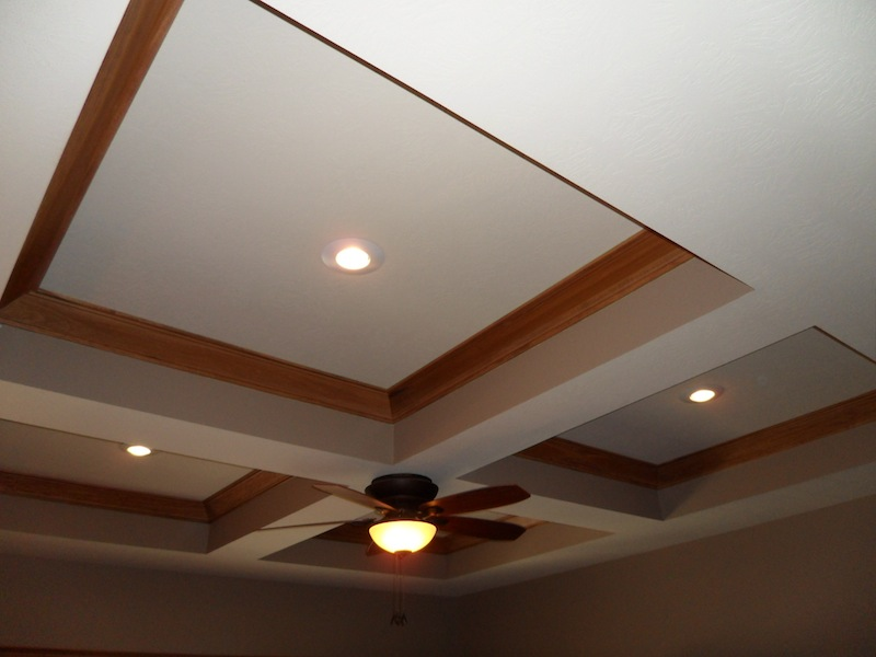 Coffered Ceiling - Crows Foot Texture