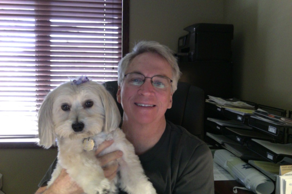 Mark Nordgren with Bella